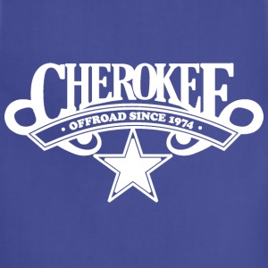 Cherokee Offroad Since 1974 - White T-Shirts - Adjustable Apron