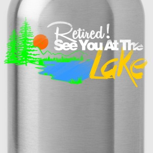 see you at the lake T-Shirts - Water Bottle