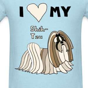 i heart my shih tzu Baby & Toddler Shirts - Men's T-Shirt