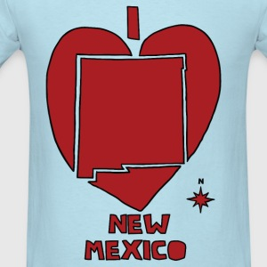 i heart New Mexico (red) Baby & Toddler Shirts - Men's T-Shirt
