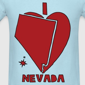 i heart Nevada (red) Baby & Toddler Shirts - Men's T-Shirt