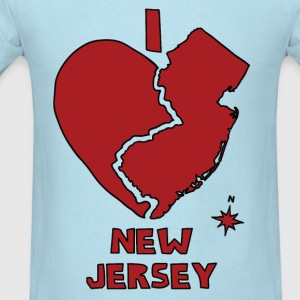 i heart New Jersey (red) Baby & Toddler Shirts - Men's T-Shirt