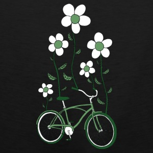 bike flowers shirt Baby & Toddler Shirts - Men's Premium Tank