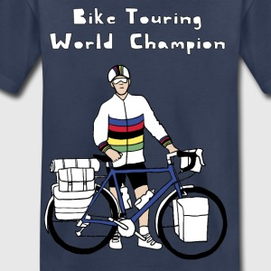 Bike Touring World Champion Kids' Shirts - Toddler Premium T-Shirt