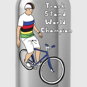 track stand world champion Hoodies - Water Bottle