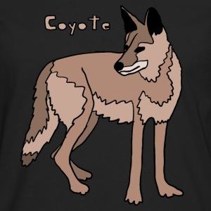 coyote Hoodies - Men's Premium Long Sleeve T-Shirt