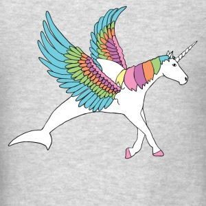 dolphin, pegasus, unicorn hybrid Hoodies - Men's T-Shirt