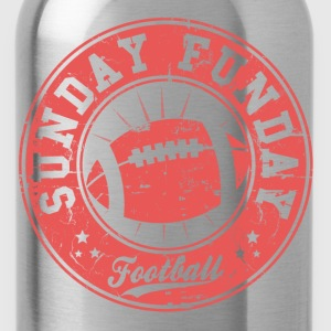 sunday funday T-Shirts - Water Bottle