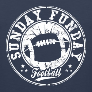 sunday funday T-Shirts - Men's Premium Tank