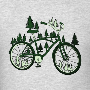 pine bike Tanks - Men's T-Shirt