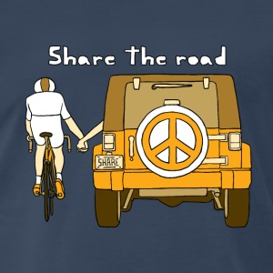 share the road Tanks - Men's Premium T-Shirt