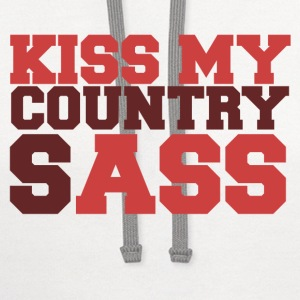 Country SASS - Contrast Hoodie