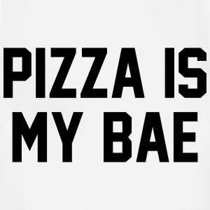 Pizza is my bae Women's T-Shirts - Adjustable Apron