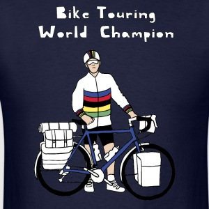 Bike Touring World Champion Hoodies - Men's T-Shirt