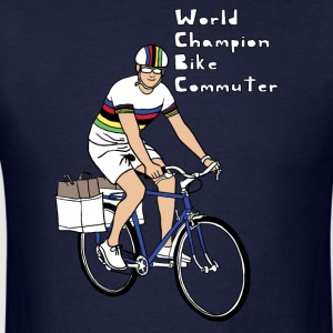world champion bike commuter Hoodies - Men's T-Shirt
