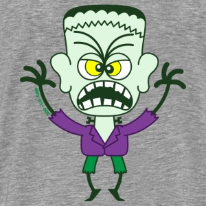 Scary Halloween Frankenstein Sweatshirts - Men's Premium T-Shirt