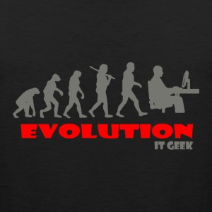 IT geek ape of Evolution - Men's Premium Tank