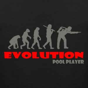 Pool player ape of Evolution Billiards - Men's Premium Tank