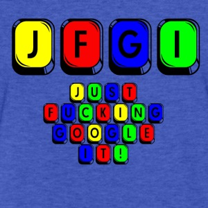 JFGI  - Fitted Cotton/Poly T-Shirt by Next Level