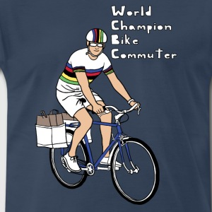 world champion bike commuter Men - Men's Premium T-Shirt