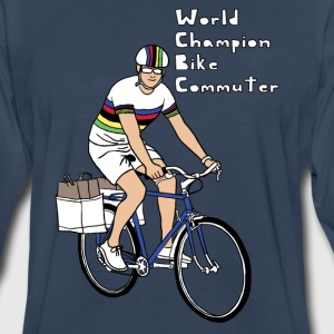 world champion bike commuter Men - Men's Premium Long Sleeve T-Shirt