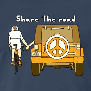 share the road Men - Men's Premium T-Shirt