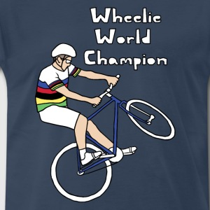 wheelie world champion Men - Men's Premium T-Shirt