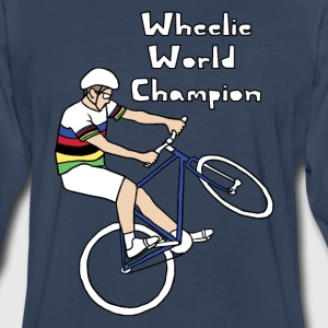 wheelie world champion Men - Men's Premium Long Sleeve T-Shirt