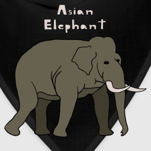 asian elephant Men - Bandana