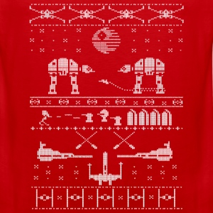 Star Wars X-Mas Sweater Satire Kids' Shirts - Men's Premium Tank