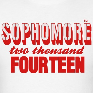 SOPHOMORE TWO THOUSAND FOURTEEN - Men's T-Shirt