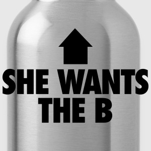 She Wants The B T-Shirts - Water Bottle