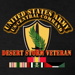 US CENTRAL COMMAND - Desert Storm Veteran - Men's T-Shirt