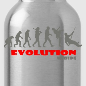 Abseiling ape of Evolution - Water Bottle