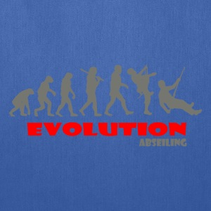 Abseiling ape of Evolution - Tote Bag