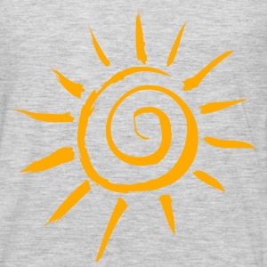 Simple Sun Motif - Men's Premium Long Sleeve T-Shirt