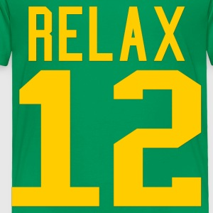 Relax 12 in Yellow - Toddler Premium T-Shirt