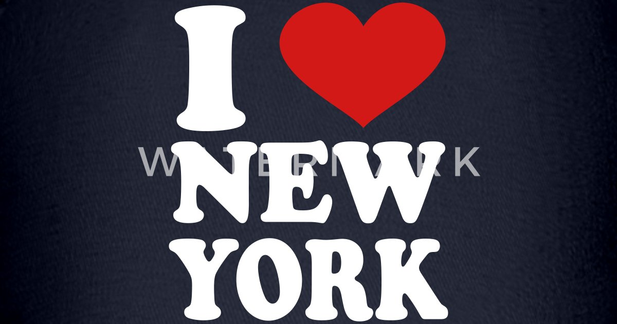 I love new york baseball cap spreadshirt for I love new york coloring page
