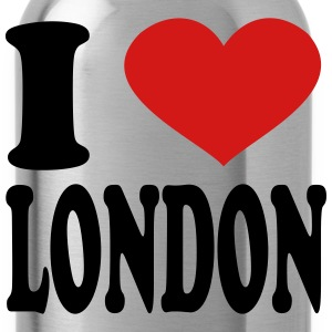 I Love London Caps - Water Bottle