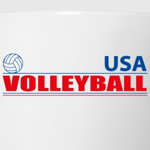 Volleyball USA Hoodies - Coffee/Tea Mug