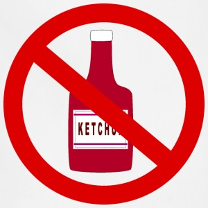 Ketchup forbidden - Adjustable Apron