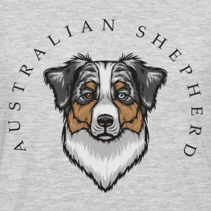 Australian Shepherd Women's T-Shirts - Men's Premium Long Sleeve T-Shirt
