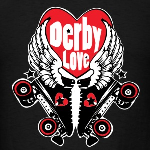 Derby Love Hoodies - Men's T-Shirt