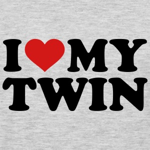 I love my twin Kids' Shirts - Men's Premium Long Sleeve T-Shirt