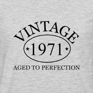 Vintage 1971 aged to perfection - Men's Premium Long Sleeve T-Shirt