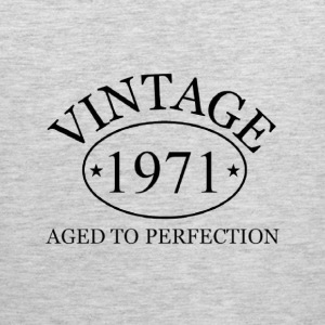Vintage 1971 aged to perfection - Men's Premium Tank