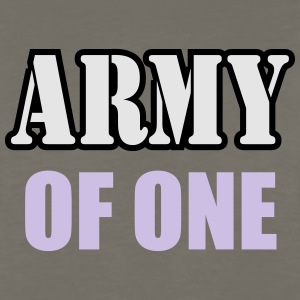 Army Of One - Men's Premium Long Sleeve T-Shirt