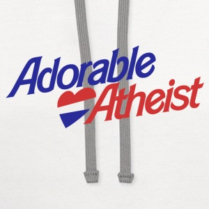 Adorable Atheist - Contrast Hoodie