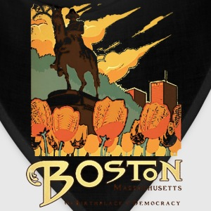 Boston Birthplace Democracy Pride Revolution Shirt Women's T-Shirts - Bandana