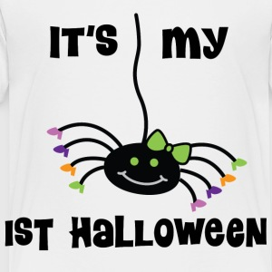 Cute 1st Halloween Girls Kids' Shirts - Toddler Premium T-Shirt
